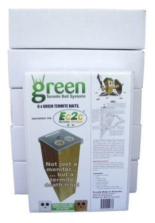 Green Termite Bait Pack